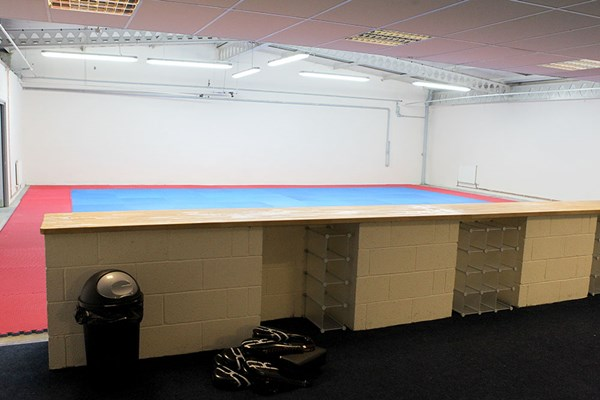 Warrior Factory Leeds Main Combat Room